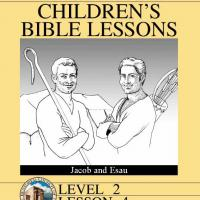 Printable Grade 2 Bible Study: Jacob and Esau - Printable Church Worksheets and Lessons - Free Printable Worksheets