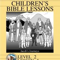 Printable Grade 2 Bible Study: Jacob's Journey - Printable Church Worksheets and Lessons - Free Printable Worksheets