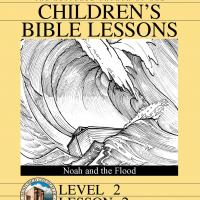 Printable Grade 2 Bible Study: Noah and the Flood - Printable Church Worksheets and Lessons - Free Printable Worksheets