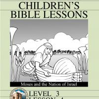 Printable Grade 3 Bible Study: Moses and the Nation of Israel - Printable Church Worksheets and Lessons - Free Printable Worksheets