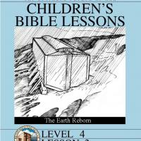 Printable Grade 4 Bible Study: The Earth Reborn - Printable Church Worksheets and Lessons - Free Printable Worksheets