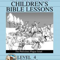 Printable Grade 4 Bible Study: The Philistines Plague Israel - Printable Church Worksheets and Lessons - Free Printable Worksheets
