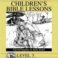 Printable Grade 5 Bible Study: David Prepares to Rule Israel - Printable Church Worksheets and Lessons - Free Printable Worksheets
