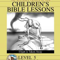 Printable Grade 5 Bible Study: Elijah is Taken Away - Printable Church Worksheets and Lessons - Free Printable Worksheets