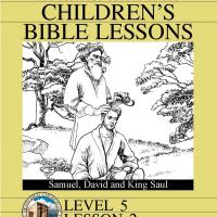 Printable Grade 5 Bible Study: Samuel, David and King Saul - Printable Church Worksheets and Lessons - Free Printable Worksheets