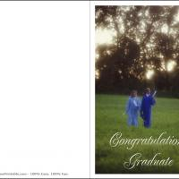 Printable Graduates On The Prairie - Printable Graduation Cards - Free Printable Cards