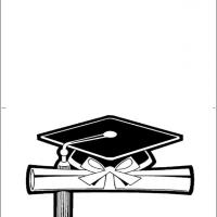 Printable Graduation Cap And Diploma - Printable Graduation Cards - Free Printable Cards