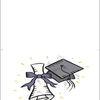 Printable Graduation Cap - Printable Graduation Cards - Free Printable Cards