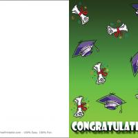 Printable Graduation Caps And Diplomas - Printable Graduation Cards - Free Printable Cards