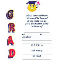 Graduation Party Honor Invite