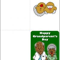 Printable Grandma and Grandpa - Printable Greeting Cards - Free Printable Cards