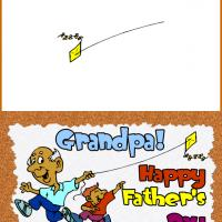 Printable Grandpa Father's Day Card - Printable Fathers Day Cards - Free Printable Cards