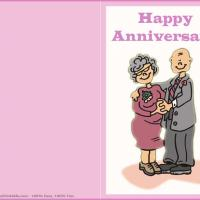 Printable Grandparents Anniversary - Printable Greeting Cards - Free Printable Cards