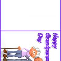 Printable Grandparent's Day Card - Printable Greeting Cards - Free Printable Cards