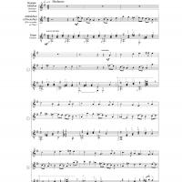 Greensleaves Guitar Music Sheet