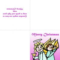 Printable Guardian Angels Of Your Life - Printable Christmas Cards - Free Printable Cards