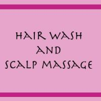 Hair Wash And Scalp Massage