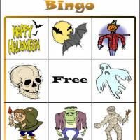 Halloween Bingo 6