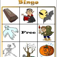 Printable Halloween Bingo Card 3 - Printable Bingo - Free Printable Games