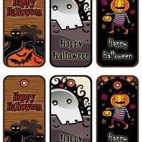 Halloween Gift Tags Set 1