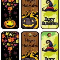 Halloween gift tags set 2 negle Image collections