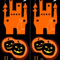 Printable Halloween Haunted Castle Bookmarks - Printable Bookmarks - Free Printable Crafts