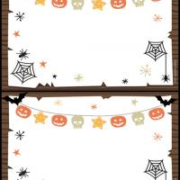 Halloween Postcard Invitation