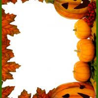 Halloween Pumpkin PostCard