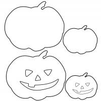 Printable Halloween Pumpkin Template - Printable Templates - Free Printable Activities