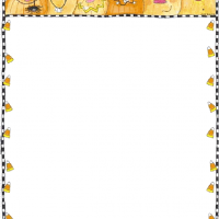 Printable Halloween Stationary - Printable Stationary - Free Printable Activities