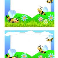 Happy Bees Postcards