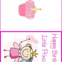 Printable Happy Birthday Princess - Printable Birthday Cards - Free Printable Cards