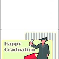 Printable Happy Graduation Greeting - Printable Graduation Cards - Free Printable Cards