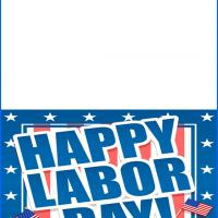 Printable Happy Labor Day - Printable Greeting Cards - Free Printable Cards
