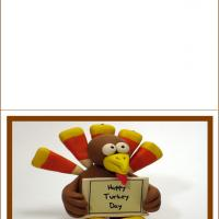 Printable Happy Turkey Day - Printable Greeting Cards - Free Printable Cards