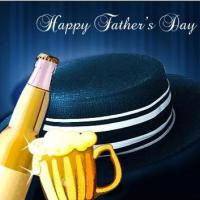 Printable Hat And Beer For Father's Day - Printable Fathers Day Cards - Free Printable Cards
