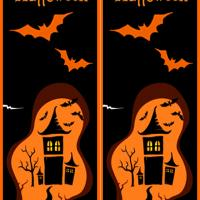 Printable Haunted Castle Bookmark - Printable Bookmarks - Free Printable Crafts