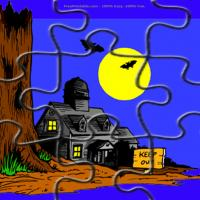 Printable Haunted House - Printable Puzzles - Free Printable Games