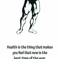 Health Buff Bookmark