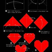 Heart Origami