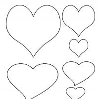 Printable Heart Template - Printable Templates - Free Printable Activities