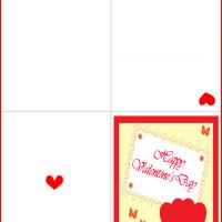Printable Hearts and Butterflies - Printable Valentines - Free Printable Cards