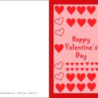 Printable Hearts And More Hearts - Printable Valentines - Free Printable Cards