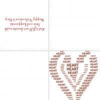 Printable Hearts Hearts And More Hearts - Printable Valentines - Free Printable Cards