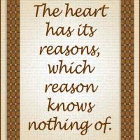 Heart's Reasons
