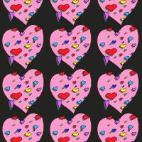 Hearts Wrappin Paper