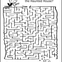 Printable Hello Kitty Halloween Maze - Printable Mazes - Free Printable Games