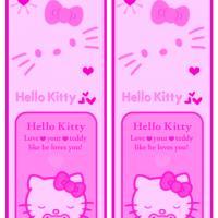 Hello Kitty Pink Bookmark