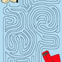 Printable Help The Children Find Their Red Envelope - Printable Mazes - Free Printable Games