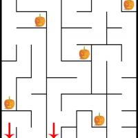 Printable Help the Devil and Warlock Find Each Other - Printable Mazes - Free Printable Games